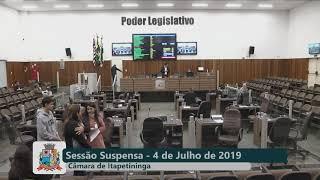 29ª Sessão Ordinária 2019