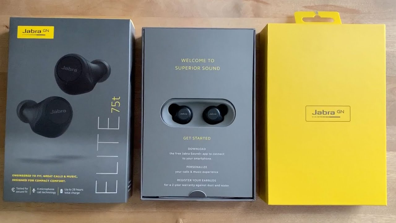 Jabra Elite 75t True Wireless Earbuds Blogger Review Youtube