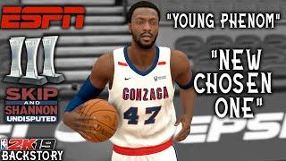 """He Had More Hype Than LeBron & Zion!""- Corey Harris NBA 2K19 MyCareer Backstory!"