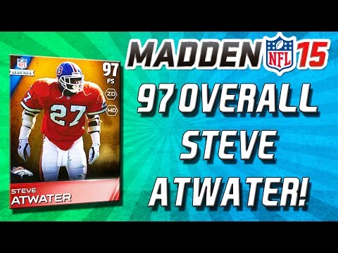 Madden 15 Ultimate Team - 98 HIT POWER! STEVE ATWATER! SMILING ASSASSIN! - MUT 15