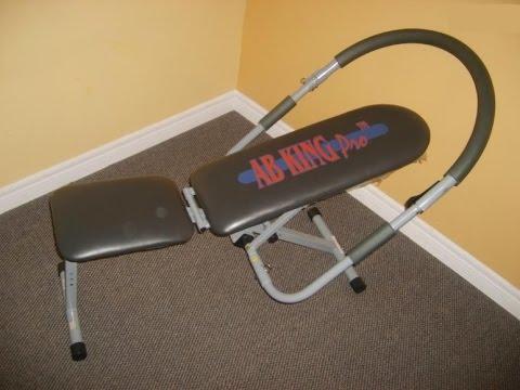Ab King Pro Exercises