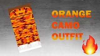 ROBLOX SPEED DESIGN: Orange Camo Outfit | ziwoll