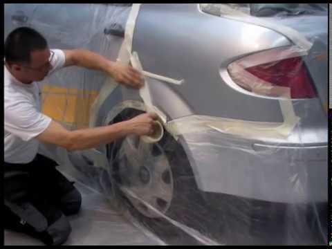 NaprawSam - Samodzielna naprawa lakiernicza elementu karoserii samochodowej z blachy stalowej