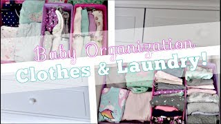 NURSERY BABY CLOTHES ORGANIZATION | EASY & AFFORDABLE