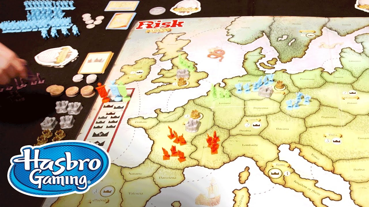 How To Play Risk Europe Hasbro Gaming Youtube