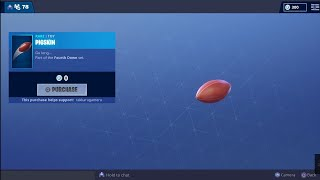 Fortnite Pigskin Toy Free At Item Shop!