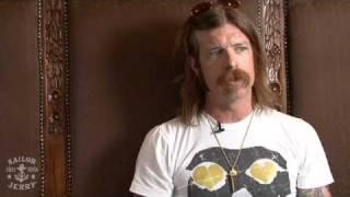 Eagles Of Death Metal - Jesse Interview - Live