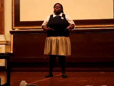 Brooklyn Latin School Term 3 Public Declamation, March 2012   Network, Chaefsky Alex Jones