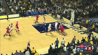 NBA 2K12: WTF? Lag! Clippers Vs. Pacers Online Quick Match Xbox 360/PS3/PC