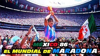 Mexico 86 The Great Show of Maradona ⭐⚽ (Argentina World Cup Champions)