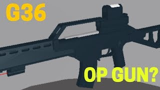 Phantom Forces - G36 Is A OP GUN?!? - (Roblox #26)