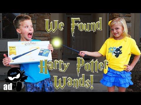 We found Harry Potter Wands! Fun coding MAGIC!