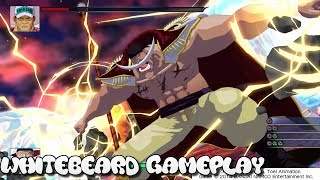 One Piece Unlimited World Red PS4 Deluxe Edition Whitebeard Gameplay
