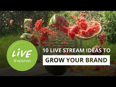 10 Live Streaming Ideas to Grow Your Brand