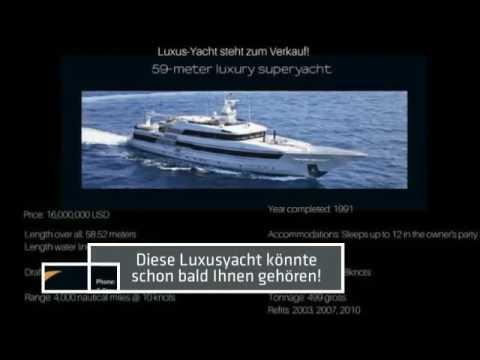 Superyachten kaufen  Wo kaufe ich eine Yacht ab 20m? Luxusyacht günstig kaufen und ...