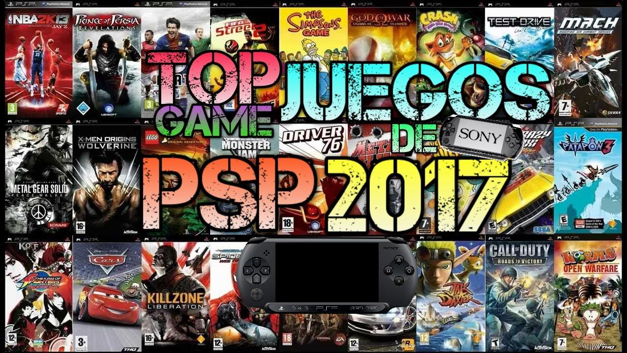 Los Mejores Juegos De Psp 2017 Mi Lista De Juegos Aplicaciones Y