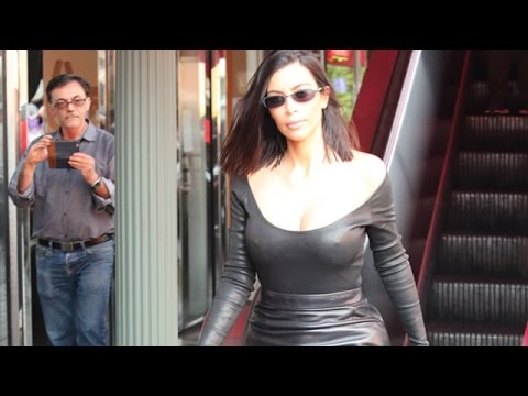Kim Kardashian Flaunting Her Amazing Shape thumbnail