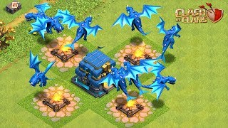 🔴 Town Hall 12 Action + Clan War