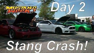 Mustang Week Day 2 | Mustang Crashed!!