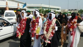 Grand Entry Welcom Back to Pakistan Multan Airport Roman Rasheed Qadri With Our Family