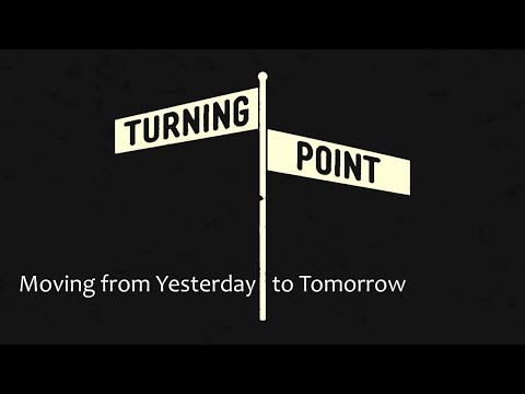 December 29th, 2019: David Chotka - Turning Point - Moving from Yesterday to Tomorrow