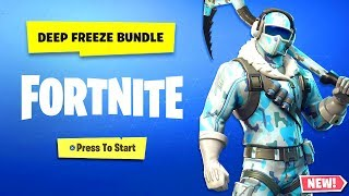 Fortnite Deep Freeze Bundle - How To Get The Deep Freeze Bundle Fortnite! (Frostbite Fortnite)
