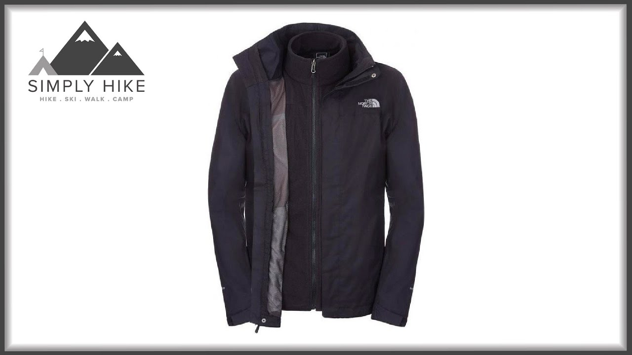 23587eecc The North Face Mens Evolution II Triclimate Jacket - www.simplyhike.co.uk
