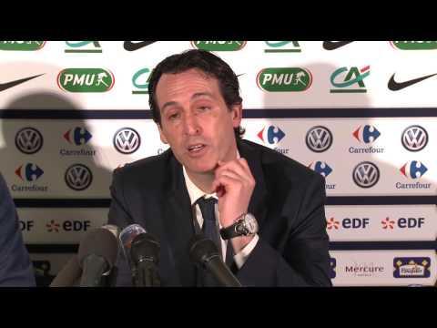 Chamois Niortais FC – Paris Saint-Germain  (01/03/2017)  Conférence de Presse