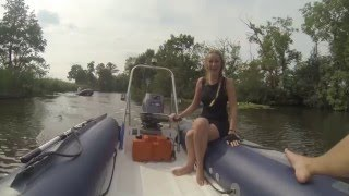[HD]  how not to handle a 40hp manual steering Yamaha zapcat edition