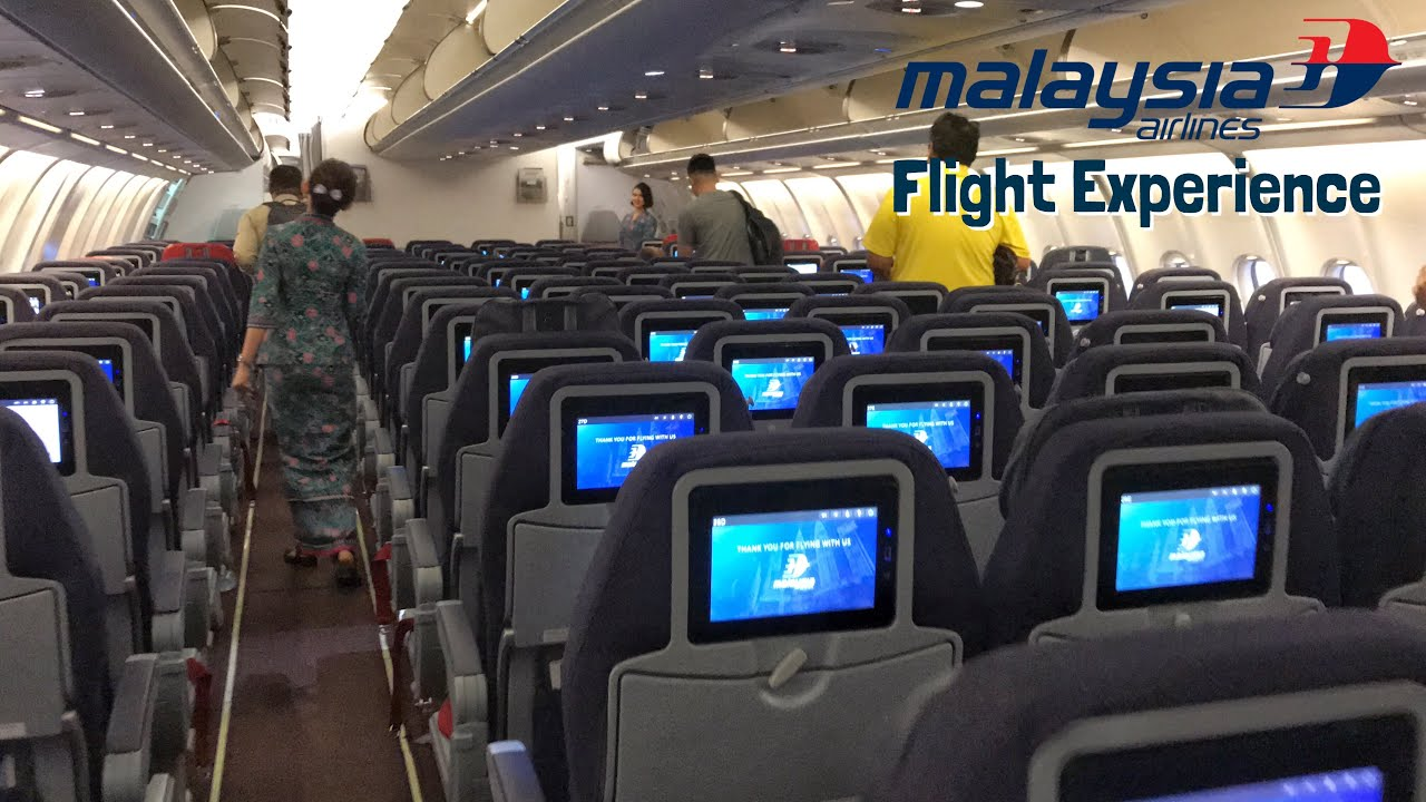 Malaysia Airlines Airbus A330-200 in Economy Class (ex-Air Berlin aircraft)    MH720
