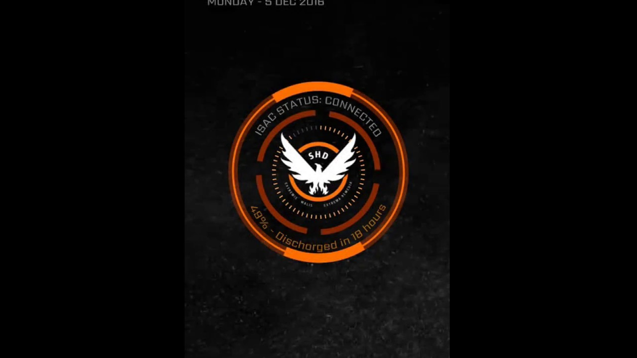 The Division Live Wallpaper Wall Giftwatches Co