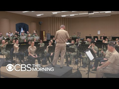 Behind The Scenes With The U.S. Navy Band Before Its Holiday Concert