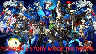Persona 4 Arena Ultimax Story Mode Persona 4 THE MOVIE