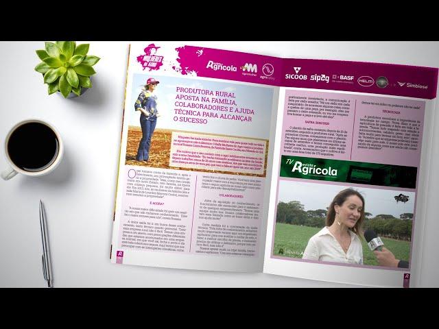 RALLY MULHERES DO AGRO | MENSAGEM DAS PRODUTORAS ENTREVISTADAS PELO PROJETO | REVISTA AGRÍCOLA