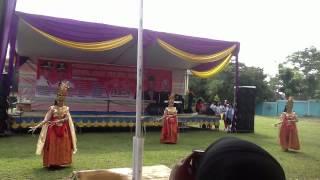 Tari Kemilau Batang Hari - Pembukaan FLS2N Palembang
