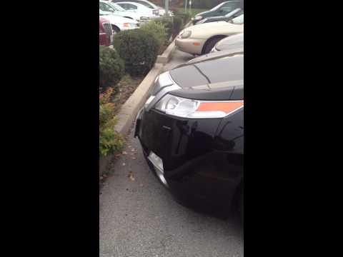 4G Acura TL headlight Spray