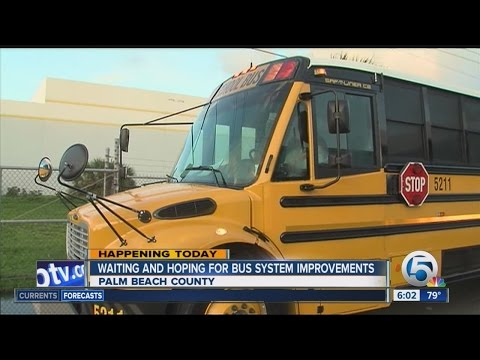 Week 2 of classes begins in Palm Beach Co: Will buses problems improve?