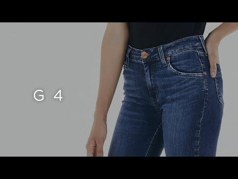 Guia Jeans - Calça Cintura Alta - G4 - Feminina