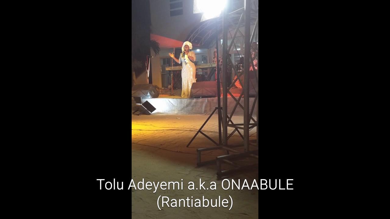 "Download Tolu Adeyemi ""Ona Abule"" Rantiabule @ Four Square Ikorodu"