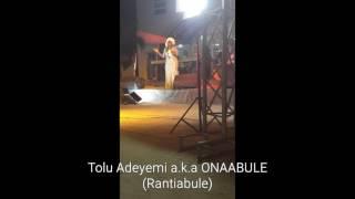 "Tolu Adeyemi ""Ona Abule"" Rantiabule @ Four Square Ikorodu"