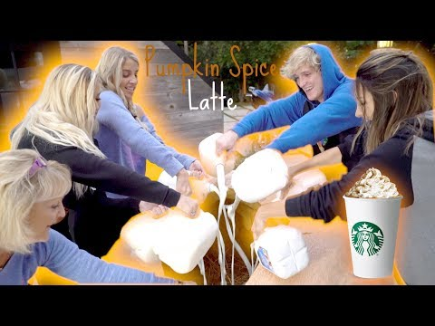 Thumbnail: WE MADE THE WORLD'S BIGGEST PUMPKIN SPICE LATTE! **World Record**