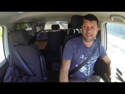Путешествие в Грецию на VW Caravelle T6  День первый   Белоруссия