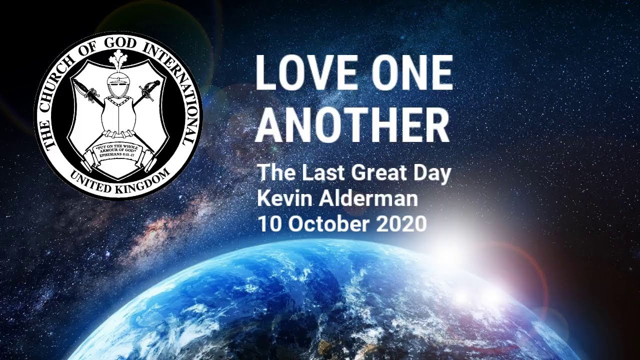 CGI UK - 10 Oct 2020 - LGD - Love One Another - Kevin Alderman