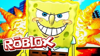 Roblox Adventures / Spongebob Movie Adventure Obby / KILLER SPONGEBOB ARRESTED?!
