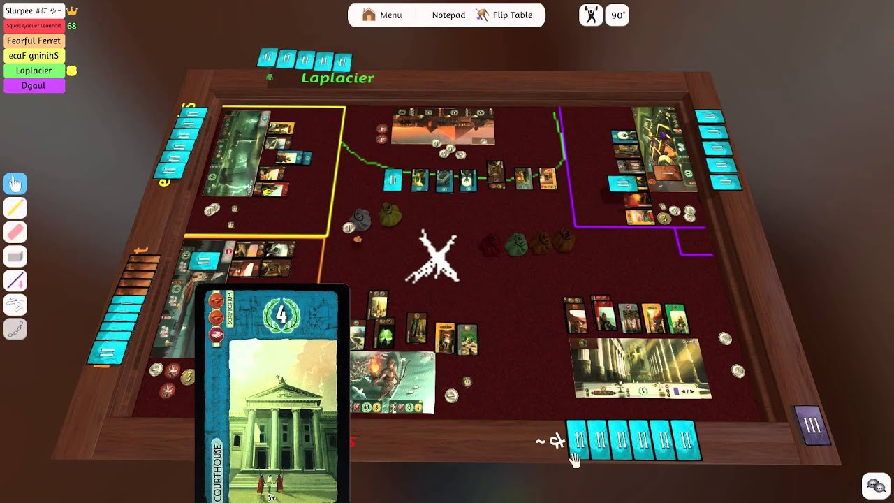 7 Wonders Duel: Pantheon - Repos Production — Videoreseña - YouTube