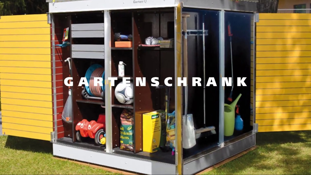 Gartenschrank - YouTube