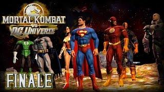 Mortal Kombat vs DC Universe Let's Play FINALE - SUPER RAGE! (Superman)
