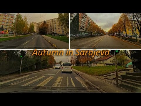 Hip-Hop music while driving car in Sarajevo