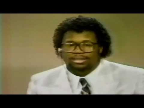 USFL Control Central 1984 -  Interview with Breakers RB Marcus Dupree