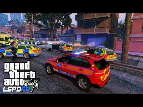 ARMED POLICE DPG PATROL | GTA 5 PC LSPDFR | The British Way #123